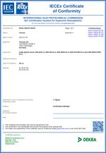 Certificates IECEX EX-D