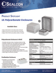 Enycase Industrial Enclosures Press Release