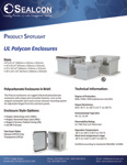 Polycon Polycarbonate Enclosures