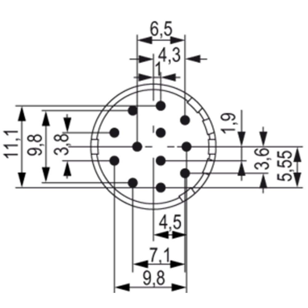 Female M12 12 Pin Wiring Diagram Wiring Library