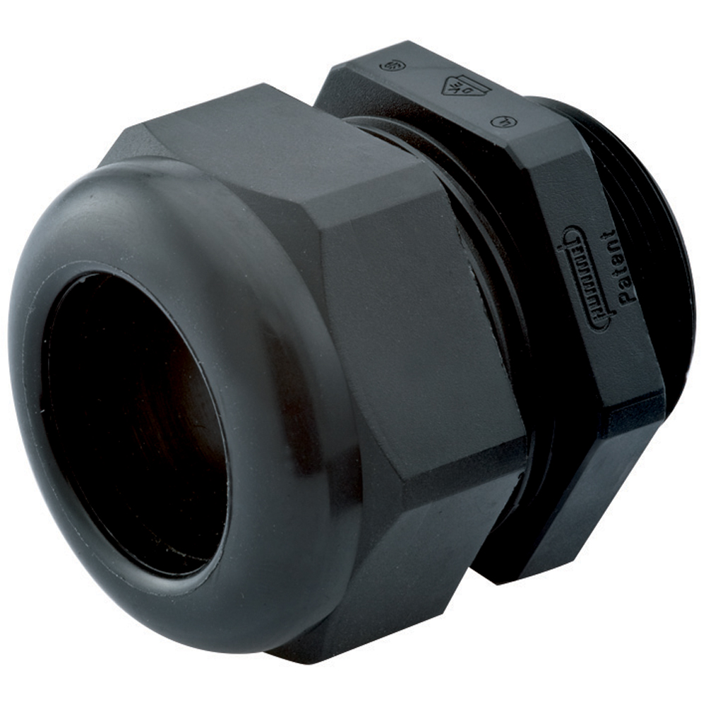 10Pcs M16x1.5 4-8mm Black White Plastic Waterproof Thread Cable Gland Jonit BDH1