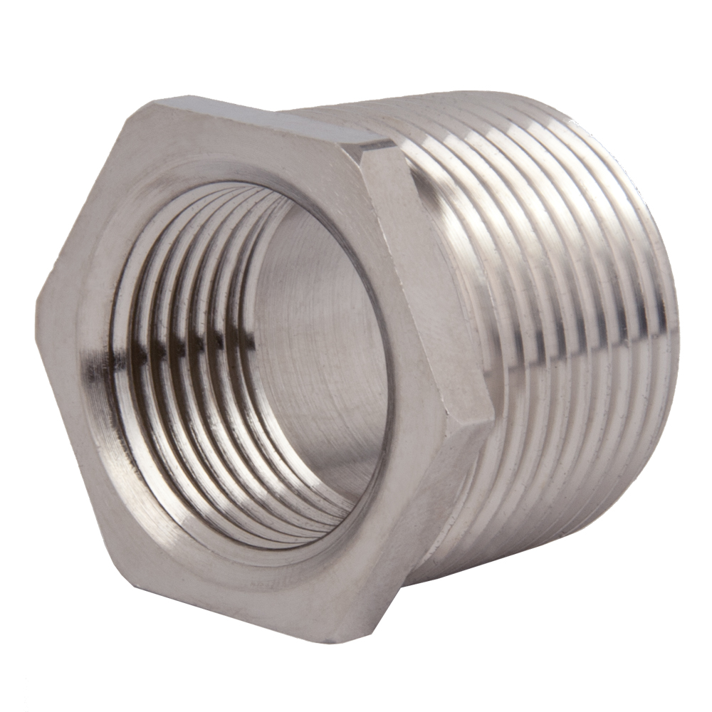 Thread reducers npt to threads strain relief fitting